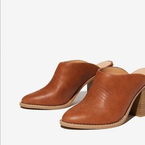 Like Express new western style mules / booties